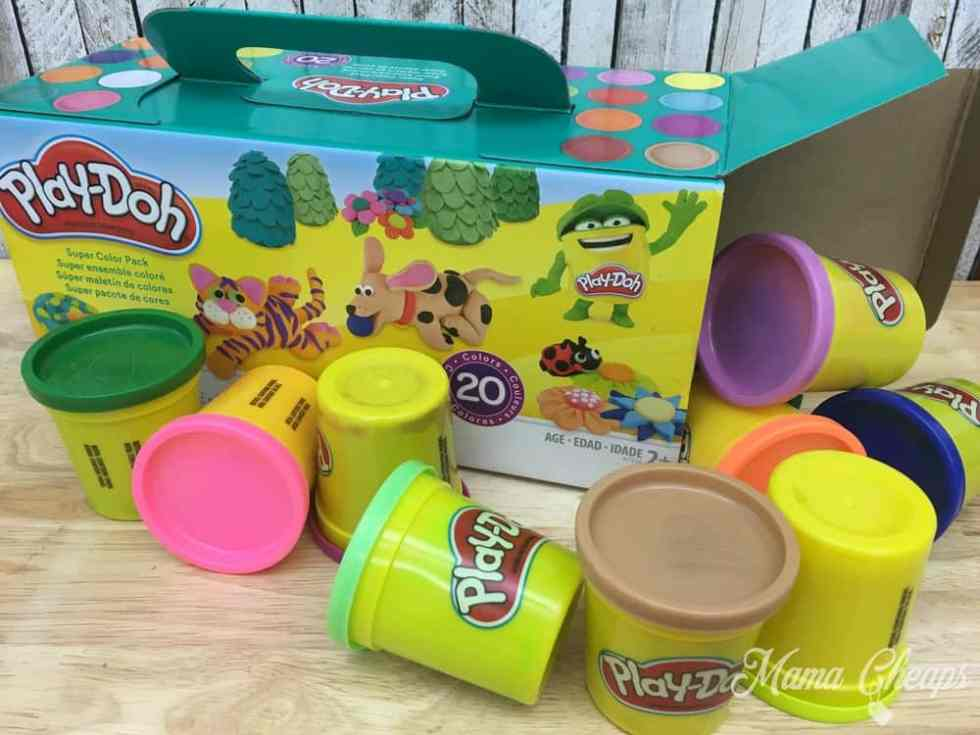 play doh ice cream castle instructions