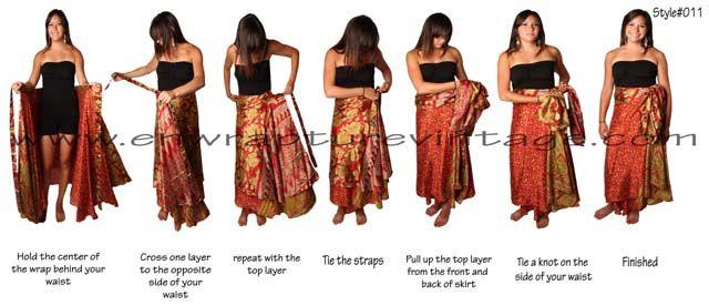 magic wrap dress instructions