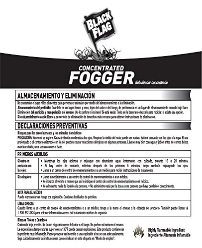 black flag concentrated fogger instructions