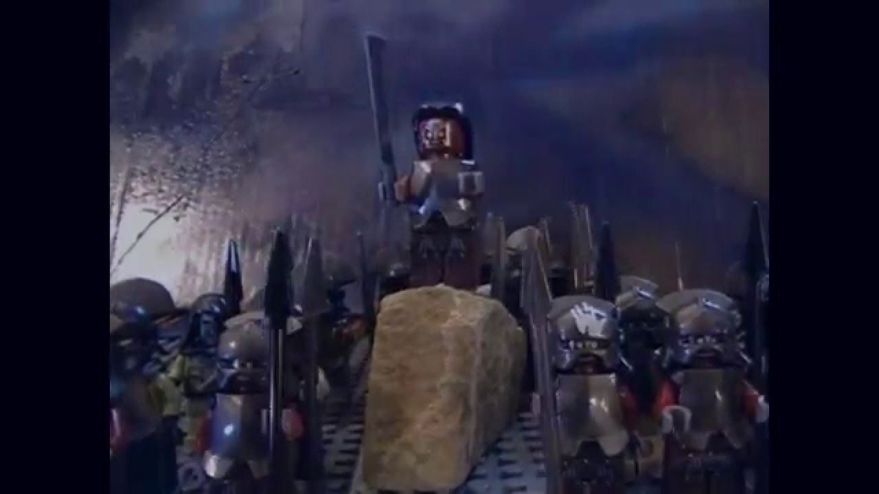 lego lord of the rings helms deep instructions