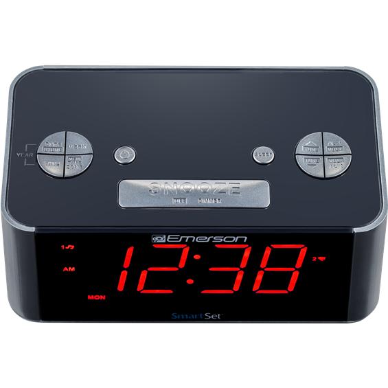 emerson smartset alarm clock instructions