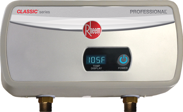 rheem tankless water heater installation instructions