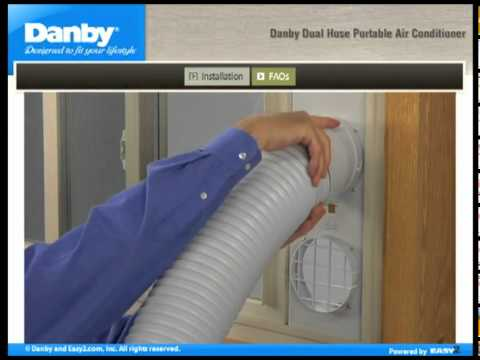 danby air conditioner installation instructions
