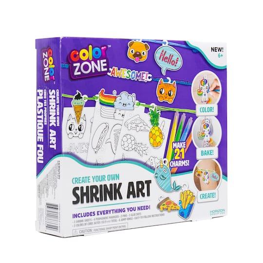 color zone shrink art instructions