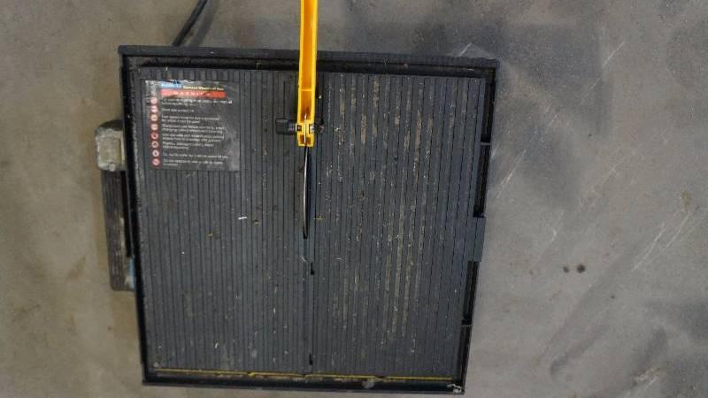 ryobi 7 wet tile saw instruction manual
