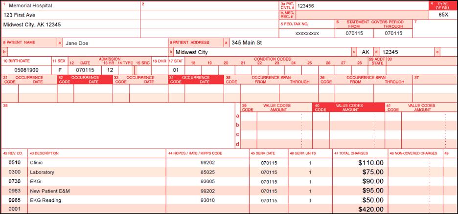 ub 04 billing instructions