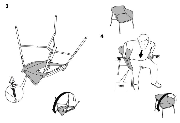 ikea lillberg sofa bed assembly instructions