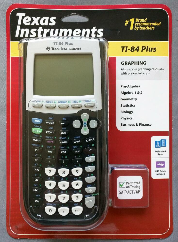 texas instruments ti 84 plus graphing calculator instructions