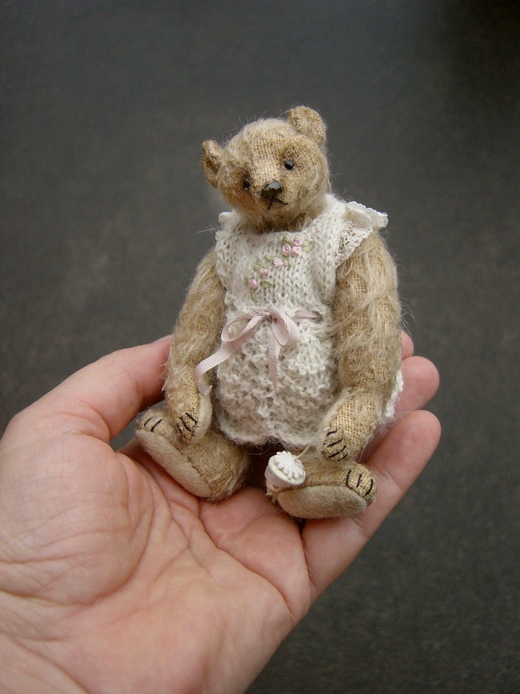 crelando teddy bear knitting instructions