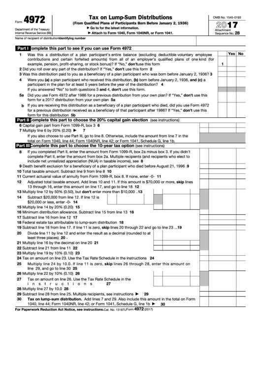 form 1040nr instructions 2017
