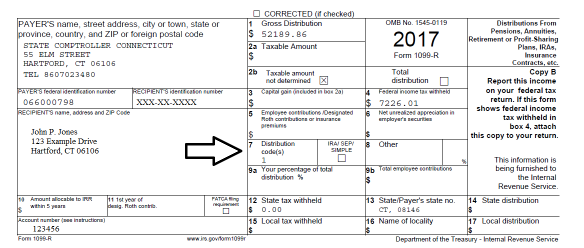 form 1099 r instructions