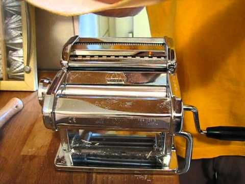 atlas pasta machine instructions