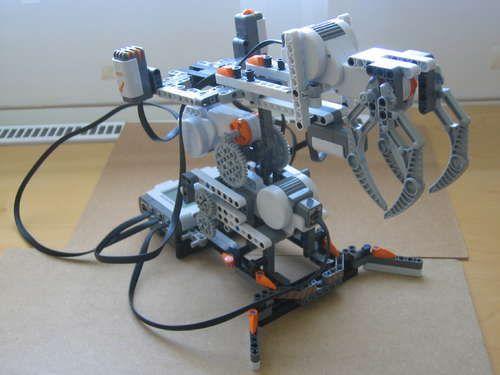 lego mindstorms basic robot instructions