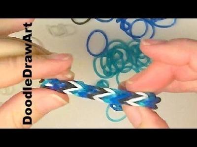 written instructions for rainbow loom bracelets