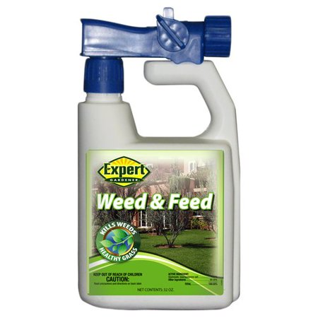 weed and feed spray instructions