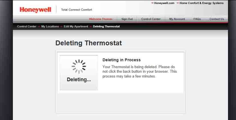honeywell wifi thermostat instructions