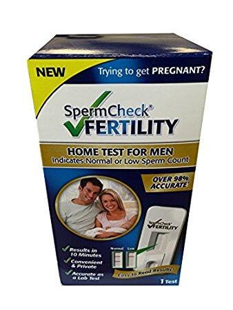 spermcheck fertility test instructions