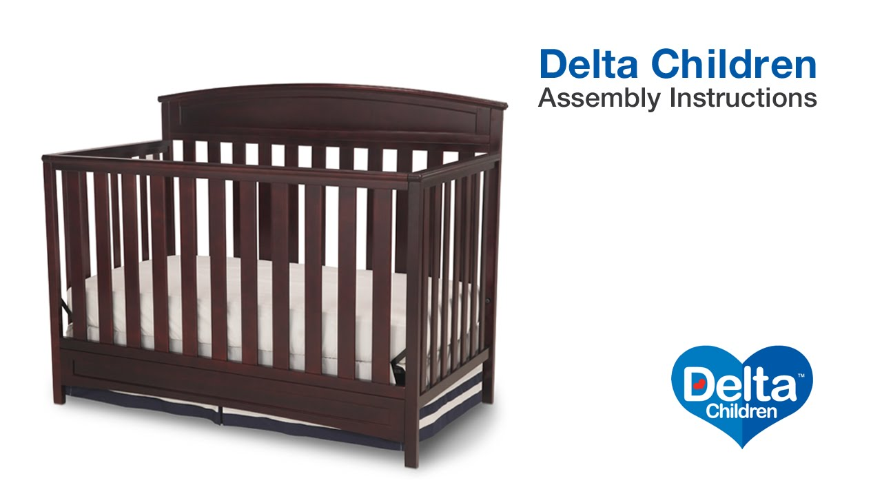 delta sutton crib instructions