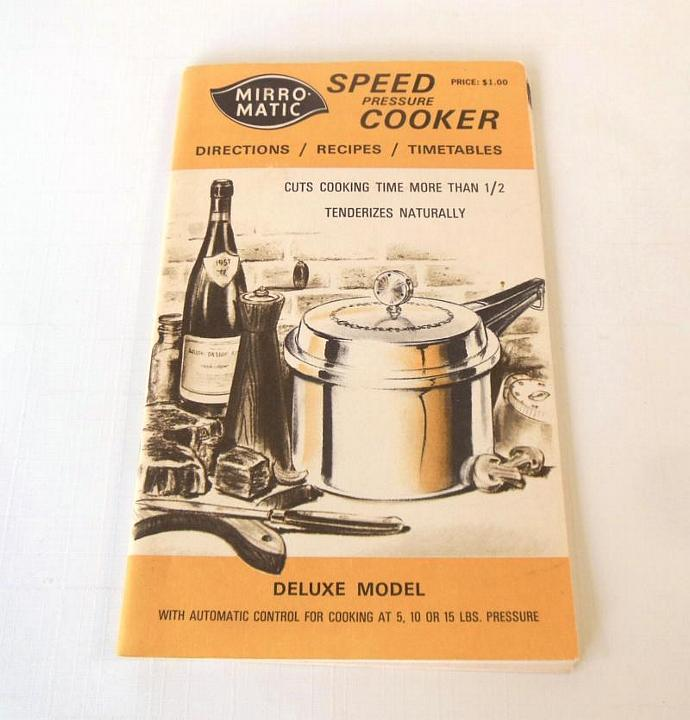 fresco pressure cooker instruction manual