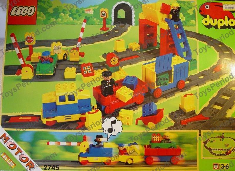 lego duplo train instructions