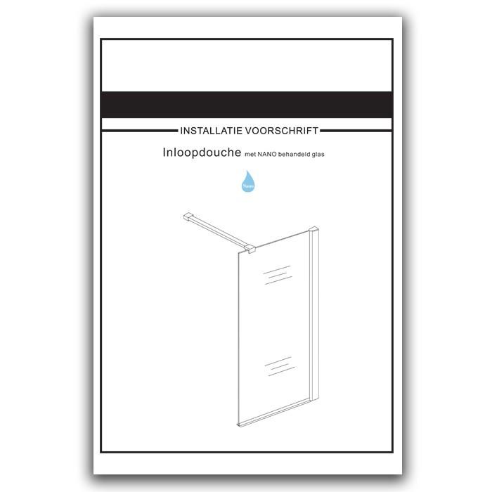 glass shower installation instructions