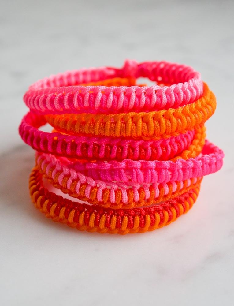 friendship bracelet kit instructions
