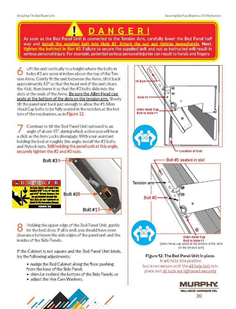 us door and fence installation instructions