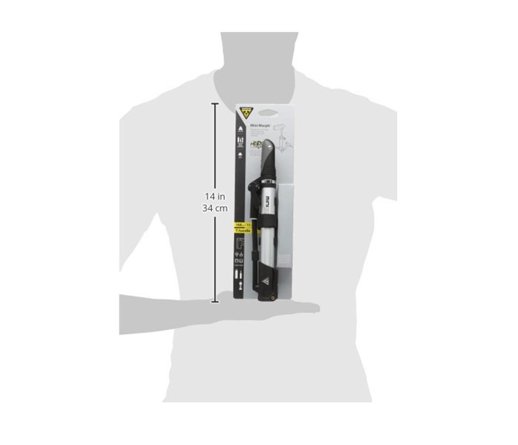topeak mini morph bike pump instructions