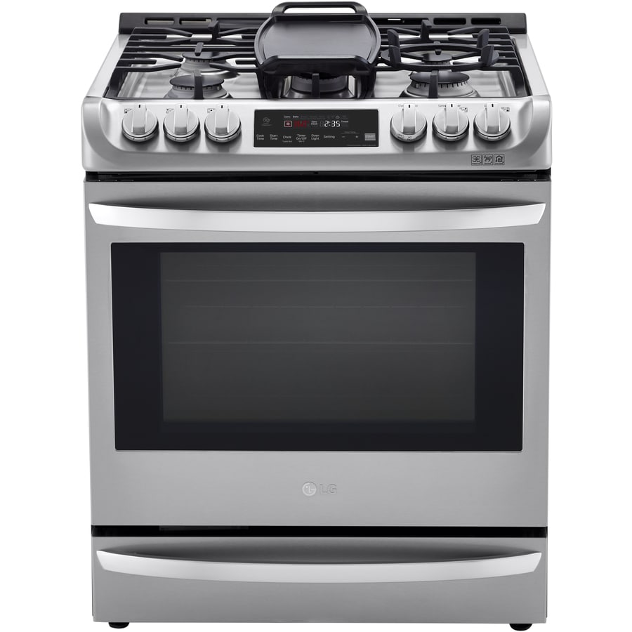 lg electric range self cleaning instructions