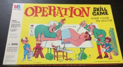 milton bradley operation game instructions