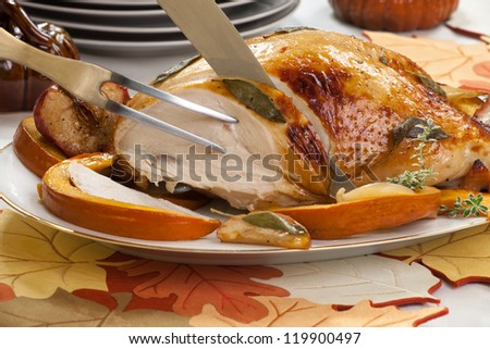 carving a turkey breast instructions