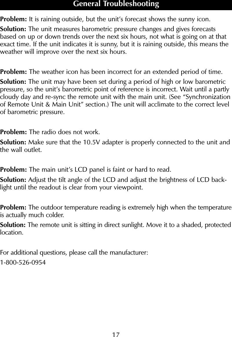 sharper image clock instructions