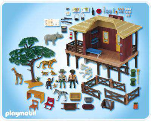 instructions for playmobil zoo