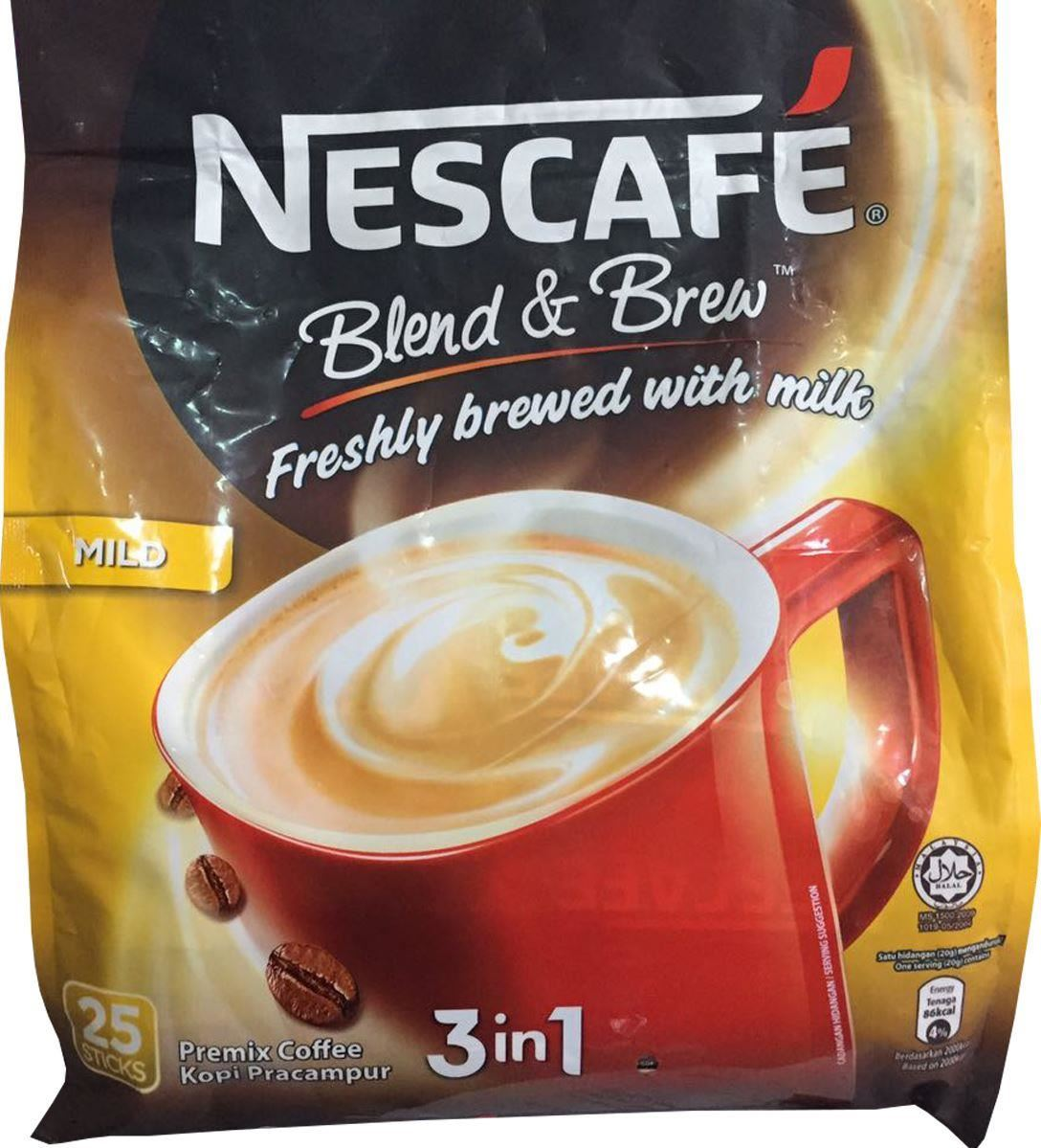 nescafe blend and brew instructions