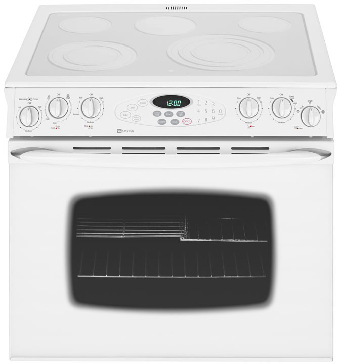 maytag range self cleaning oven instructions