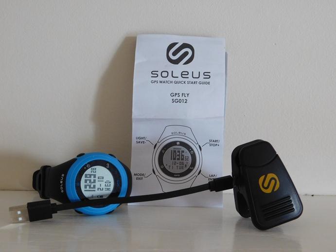 soleus gps watch instructions