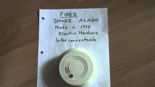 firex smoke alarm battery replacement instructions