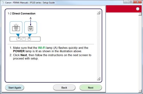 canon pixma ip110 instructions