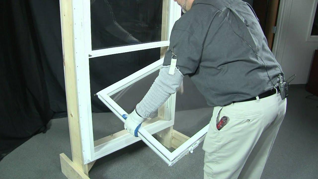andersen tilt wash window instructions