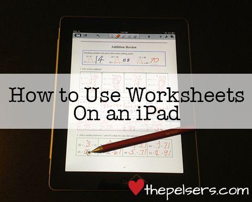 basic instructions for using ipad