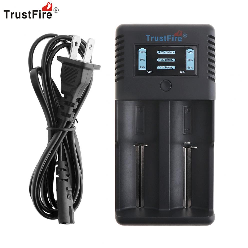 trustfire battery charger instructions
