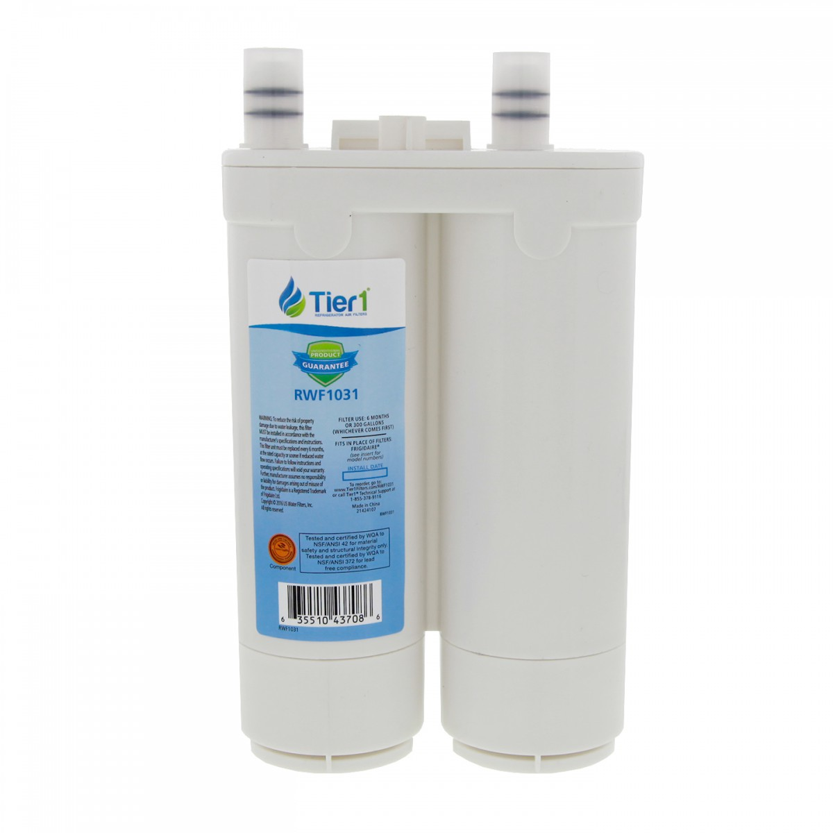 whirlpool refrigerator water filter replacement instructions