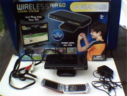 wireless air 60 gaming system instructions