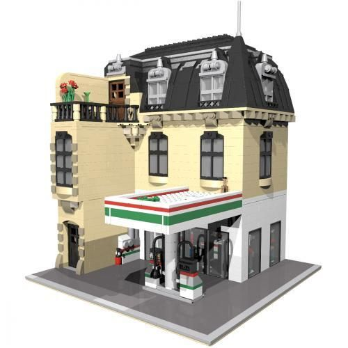 lego police station building instructions