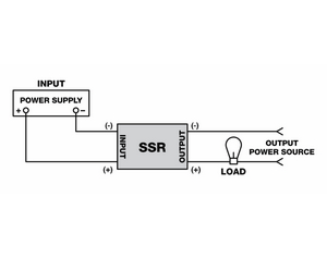 solid state relay wiring instructions