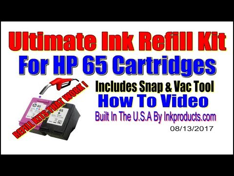 hp 61 cartridge refill instructions