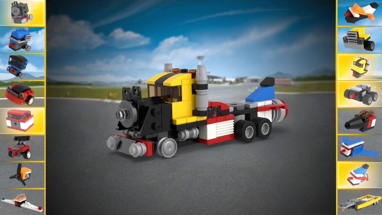 lego creator 31054 instructions