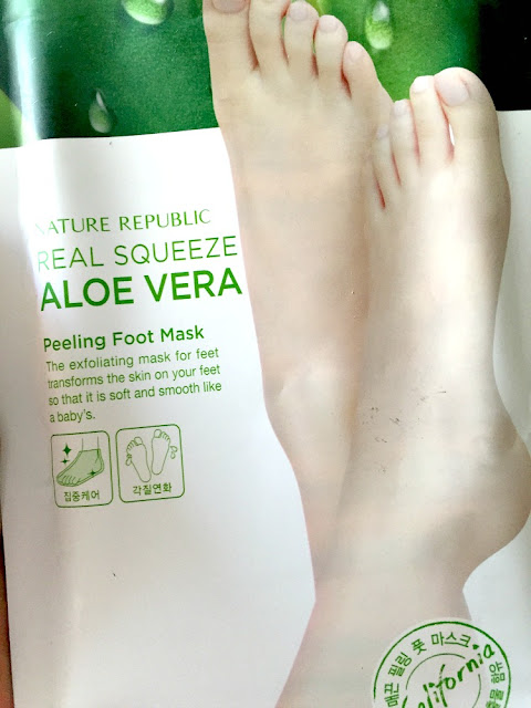 nature republic foot peel instructions