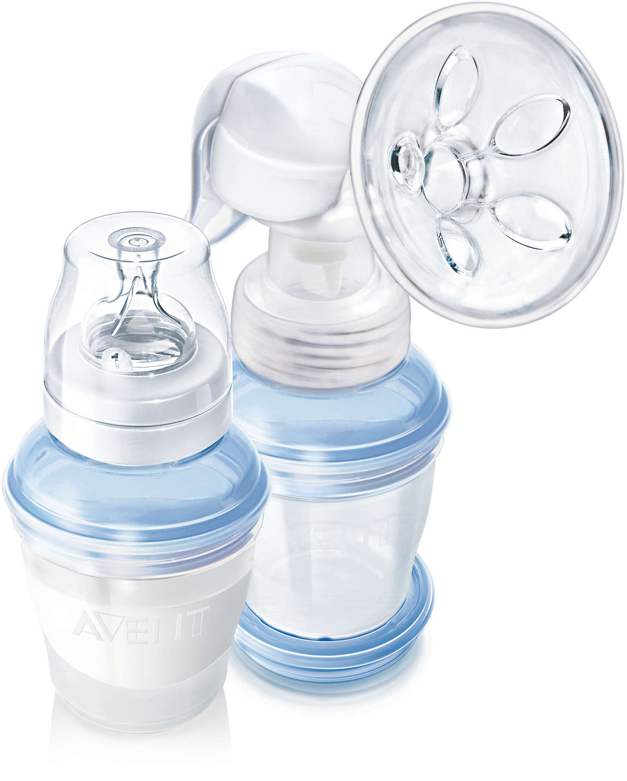 avent hand breast pump instructions