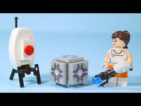 lego portal 2 instructions